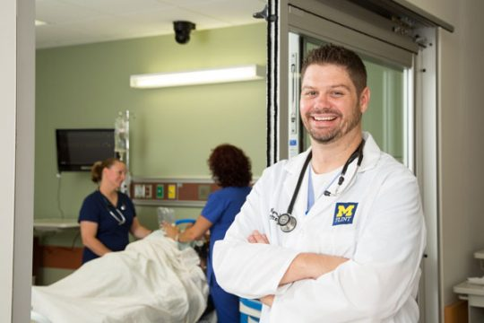 UM-Flint's online graduate programs in nursing ranked among the best kin the nation by U.S. News and World Report.