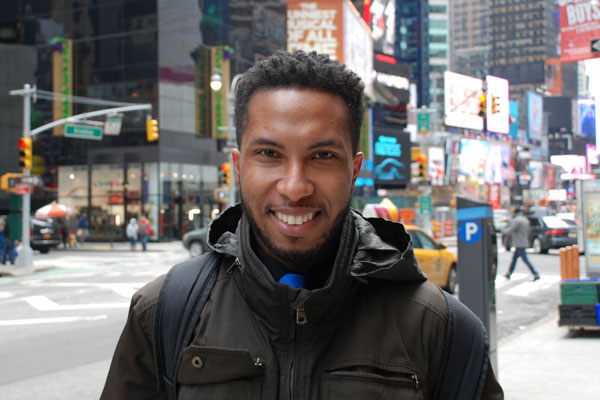 Shaquille Green is an alumnus of UM-Flint's STAR program who went on to teach in New York City.