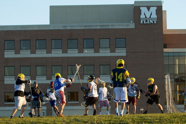 UM-Flint Men's Lacrosse season begins in early March.