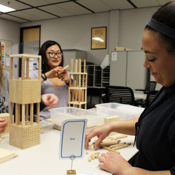 UM-Flint Education Students Prepare to Teach Math Strategies