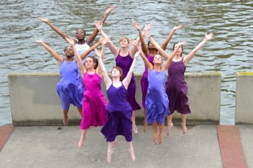 UM-Flint Dance students prepared for the annual Spring Dance Concert