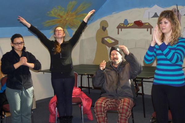 UM-Flint Dance students explore movement with Vista Center members