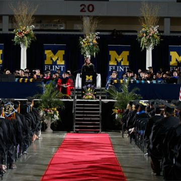 UM-Flint April Commencement Ceremonies Celebrate Graduates