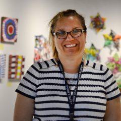 UM-Flint art alumna Melissa Leaym-Fernandez