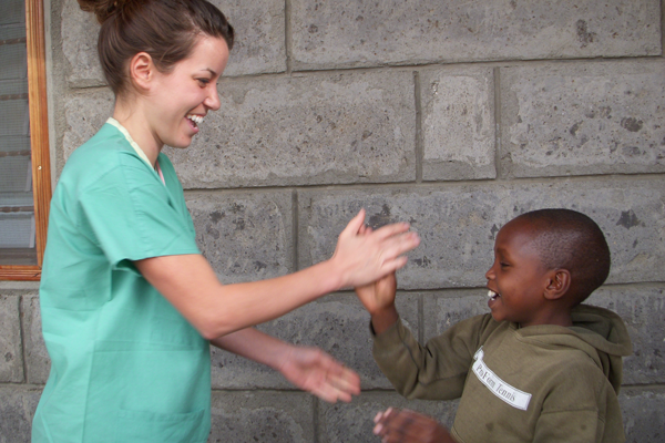 UM-Flint nursing students are studying in Nairobi, Kenya for the ninth consecutive year.