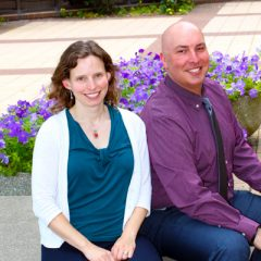 UM-Flint faculty members Stephanie Dean and Joshua May