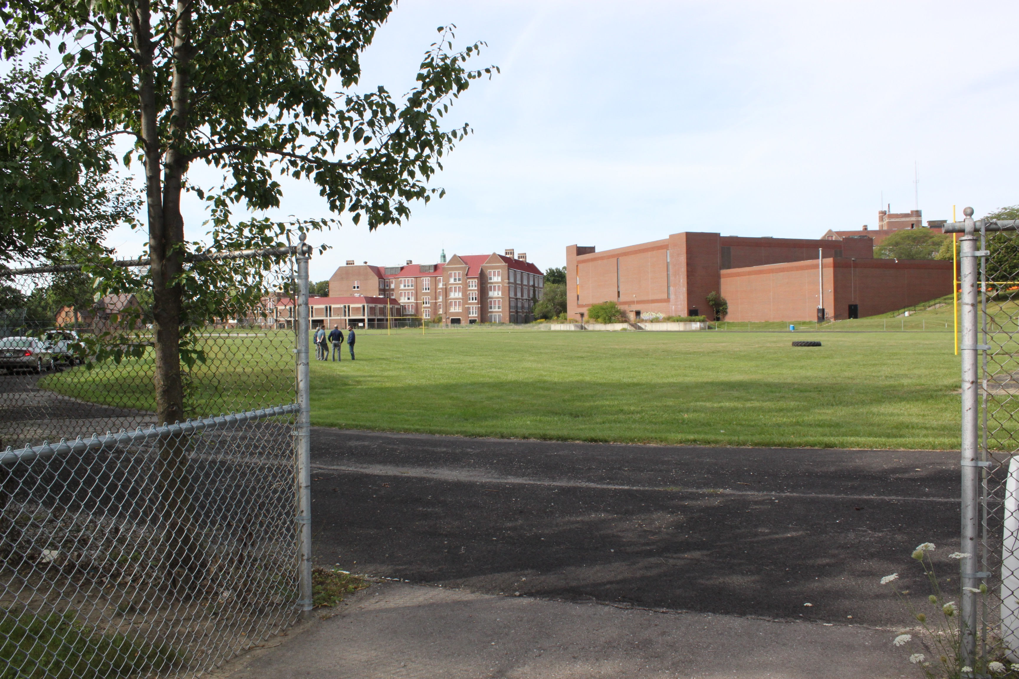 UM-Flint will use the former Central High School athletic field for lacrosse, football, and soccer.