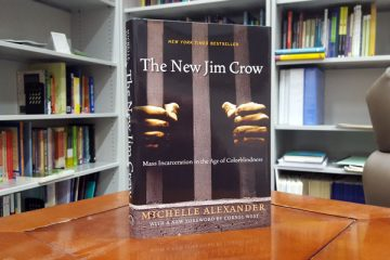 """The New Jim Crow: Mass Incarceration in the Age of Colorblindness"" by Michelle Alexander"