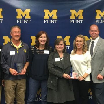 "UM-Flint honors area teachers and administrators at ""Celebrating Educators"" event"