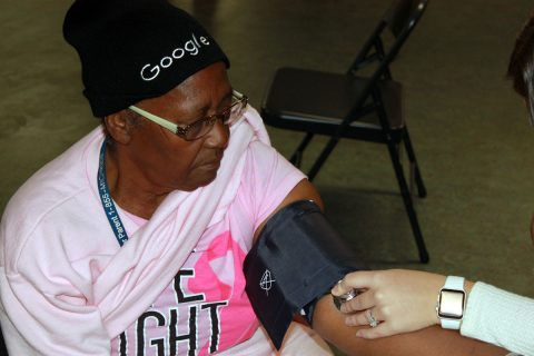 Flint resident Joyce Jack-Hughes appreciates the services offered by PT Heart.