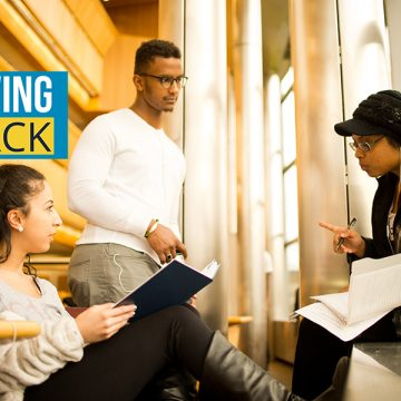 """Giving Back"" is a new series of stories authored by the Alumni Relations team that focuses on the volunteerism, philanthropy, and engagement of UM-Flint alumni."