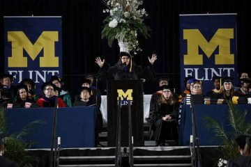UM-Flint's 2017 December commencement keynote speaker Dr. Mohja Kahf