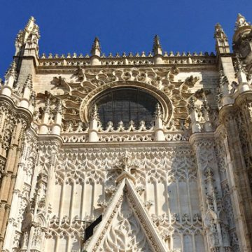 Seville Cathedral in Seville, Spain—where UM-Flint's School of Education and Human Services has a new partnership with Universidad Loyola Andalucia.