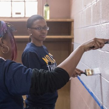 UM-Flint volunteers honor Dr. King's legacy with 'day of service'