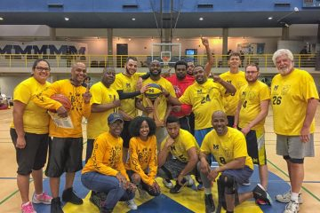 UM-Flint's alumni team members were the victors of the 2017 game.
