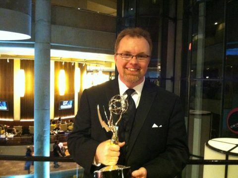 UM-Flint Theatre alumnus Ernie Gilbert ('92) has won multiple awards, including an Emmy, for his work.