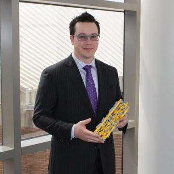 Anesthesia student's medical device idea wins UM-Flint business pitch competition