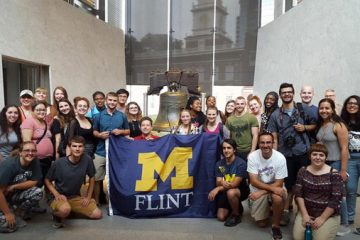 Philadelphia, PA was the destination for UM-Flint's 2017 Alternative Summer Break.