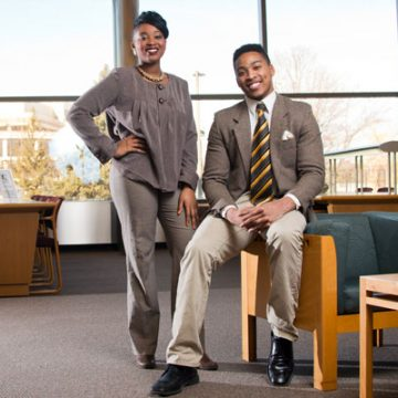 UM-Flint Communication Studies helps alumni twins find their voice in ministry