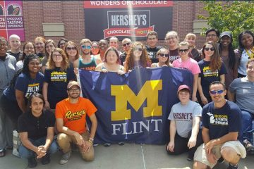 UM-Flint volunteers stopped in Hersey, PA as part of the 2017 Alternative Summer Break in Philadelphia.