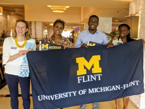 UM-Flint international alumni event in Nigeria