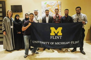 UM-Flint international alumni event in Saudi Arabia
