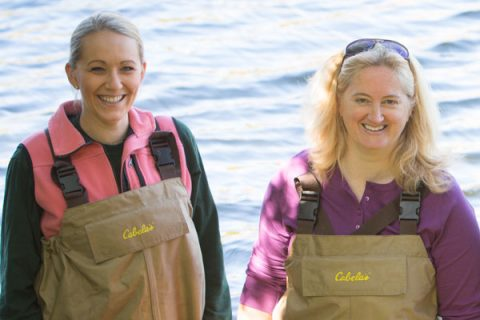 Danielle Potts and Heather Dawson are UM-Flint faculty members in the Department of Biology.