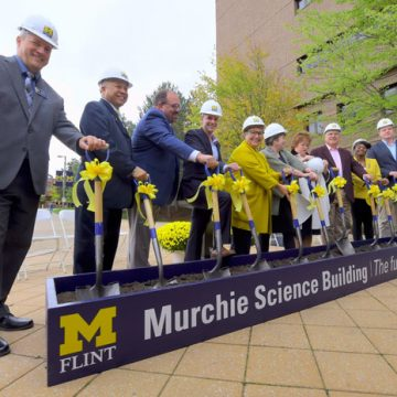 UM-Flint breaks ground on $39 million Murchie Science Building expansion