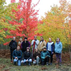 Dr. Jill Witt brought her Forest Ecology class to the University of Michigan Biological Station to put their research skills to work.