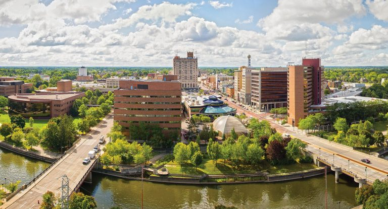The University of Michigan-Flint's downtown campus