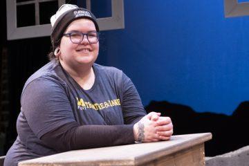 Setting The Stage Theatre Student Lisa Bilaski Showcases Her Scenic Design Skills