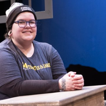 Setting the stage: theatre student Lisa Bilaski showcases her scenic design skills