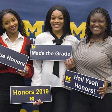 Honors students recognized for academic achievement