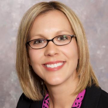 Vice Chancellor for Enrollment Management Kristi Hottenstein