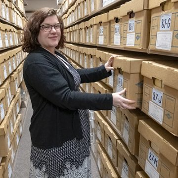 "New archivist leverages university's ""amazing treasures"""