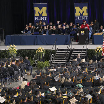 Graduates reflect on college careers at UM-Flint