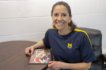 Nutrition specialist Mary Delgado