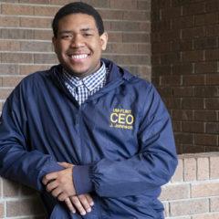 UM-Flint student Jayden Johnson