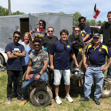 UM-Flint goes off-road: Engineering competes in Baja SAE