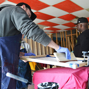 Art Students Create Pop-Up T-Shirt Business on MLK Ave.