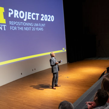 """Project 2020: UM-Flint at the """"speed of students"""""""