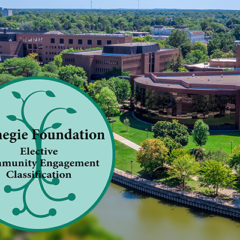 UM-Flint's efforts in the community recognized with prestigious Carnegie Community Engagement Classification.