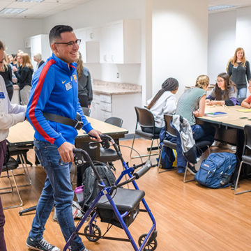 UM-Flint occupational therapy students share success stories of program's first year