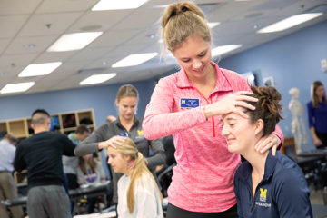 The University of Michigan-Flint's Physical Therapy (PT) program has been named the top program in the state of Michigan and one of the top programs in the country according to U.S. News & World Report.