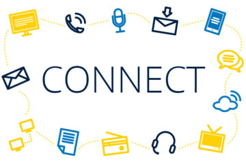 Staying connected is still important, especially in this time of social distancing. (Image by Lindsay Stoddard, University Communications & Marketing)
