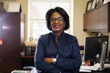 Dr. Sonja Feist-Price, UM-Flint Provost and Vice Chancellor for Academic Affairs, poses for a portrait.