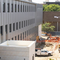 Photo of MSB Expansion construction