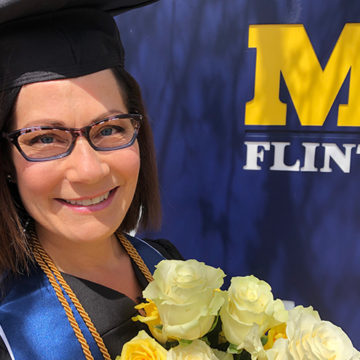 Fighting back: Holly Attebury's cancer research studies began at UM-Flint