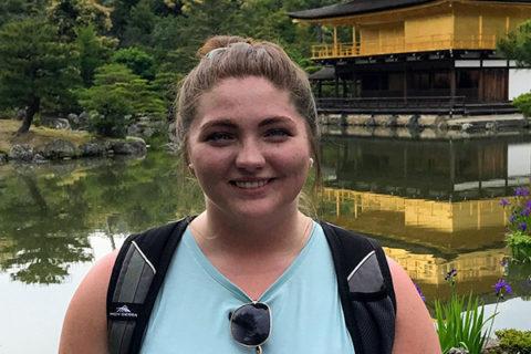 Haylee skank on a Wyatt trip in Japan