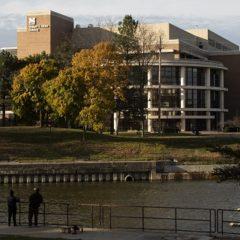 Photo of exterior of William S. White Building